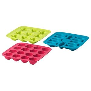 Set of 3 - IKEA PLASTIS Ice Cube Trays
